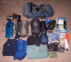 Backpack Hiking Gear