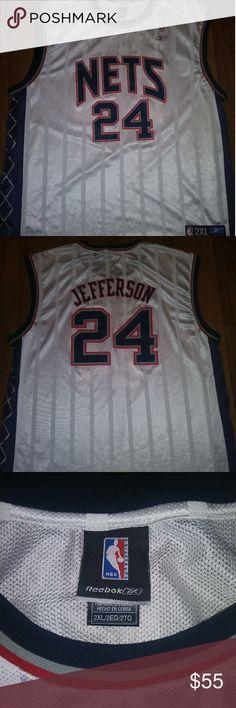 4d3e0ed61b4c New Jersey Nets Richard Jefferson Reebok size 2XL perfect condition. Reebok  Shirts Tank Tops Richard