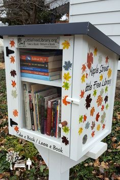 Tracy W. Lafayette, IN. Maple Street Free Little Library started in 2016 and serves the St Lawrence McAllister Neighborhood in Lafayette Indiana. We are located across the street from Wabash Center and Public Transportation, 1 block from St Lawrence  School  and 6 blocks from The City of Lafayette's McAllister Recreation Center which serves the needs of the entire community. We are excited to have a diverse group of patrons and look forward to the community interaction. Dedicated to…