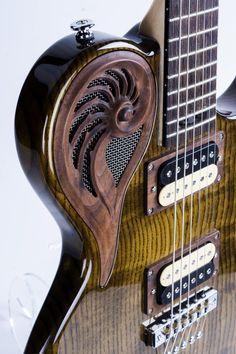 Custom Electric guitar Elena Omega.
