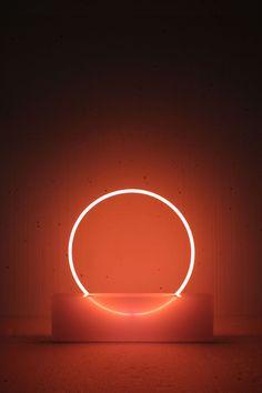 Sabine Marcelis, Voie Lights, Edition Comissionned by Etage Projects Gallery, Copenhagen, DK. Photo courtesy of Sabine Marcelis. Neon Lighting, Lighting Design, Light Luz, Neon Lamp, Stage Design, 3d Design, Design Inspiration, Lights, Instagram