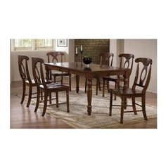 Winners Only   Pelican Point 5 Pc Dining Set In Derby Brown   Includes Table
