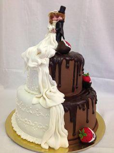 24. Felemás esküvői torta