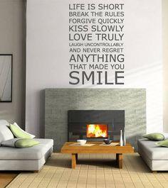 make fireplace modern looking