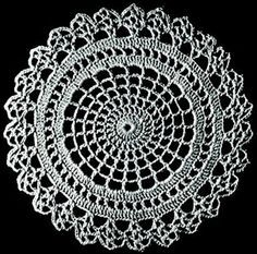 Vintage crochet pattern site… These doily patterns would be great as rugs don&… Crochet Round, Crochet Home, Crochet Crafts, Crochet Projects, Free Crochet Doily Patterns, Crochet Motif, Free Pattern, Crochet Coaster, Crotchet Patterns