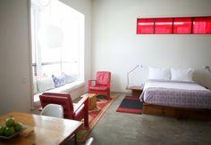 living space idealized   hotel san jose   austin, tx