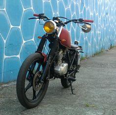"Lord of Motors: Intruder 125 ""DEUS"" Style..."