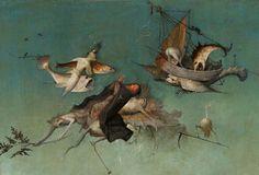 """1971 Vintage Hieronymus Bosch /"""" The Last Judgement /"""" #1 Couleur Estampe"""