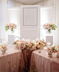 Monogrammed Floral Wedding Backdrop Hunt Club