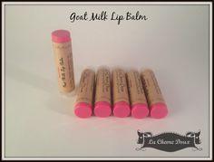 Goat Milk Lip Balm by LaChevreDoux on Etsy the best lip balm!!!!