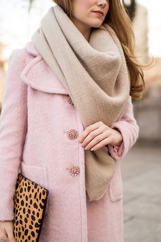 leopard print & pink | winter fashion ideas | winter style tips | winter wardrobe must-haves | fashion tips for winter || a lonestar state of southern