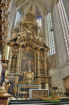 St. Catherine Church, Krakow, Poland.