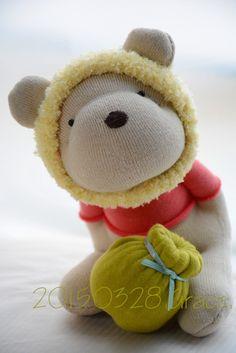 Grace--#182 sock bear