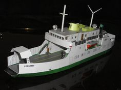 This ship paper model is the Limhamn Ferry (Fähre Limhamn), created by Hans-Joachim Conrad, the scale is in 1:250. You can download this paper model templa