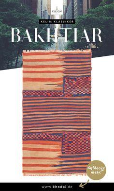 Kelim Klassiker - Bakhtiar Kelim KHODAI - Handmade Carpets