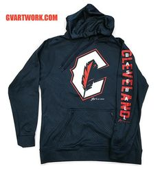 85c6a2bee7 Cleveland C Feather Athletic Hooded Sweatshirt