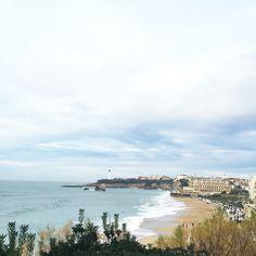 • B I A R R I T Z •  26/12/2015 #Biarritz #Voyage #PaysBasque #France #Landscape #Beach #Plage