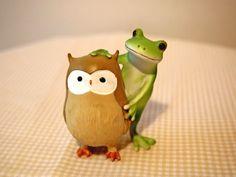 カエルとフクロウ