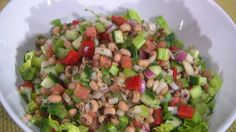 Uncle Johnny's Black-Eyed Pea Salad ~ Dr. Ian Smith