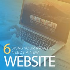 Don't lose patients because your website is outdated. The success of your practice depends on a modern website design. Find out if your website needs an update. Modern Website, Your Website, New Sign, Once Upon A Time, Dental, Age, Fancy, Marketing, Signs