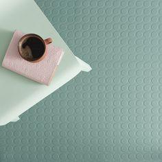 Sophisticated Rubber Floor Tiles Sophisticated Rubber Floor Tiles from Harvey Maria. These premium quality rubber floor tiles come in a range of beautifu. Linoleum Flooring, Rubber Flooring, Grey Flooring, Rubber Bathroom Flooring, Cladding Materials, Wood Cladding, Grey Floor Tiles, Bathroom Floor Tiles, Loft Bathroom