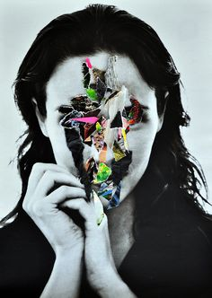 Collage by Marco Migani Exam Images, Chaos Theory, A Level Art, Gcse Art, Art Direction, Color Splash, Collage Art, Sculpture Art, Beauty Women