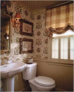 English country decorating on pinterest for English country bathroom ideas