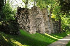"""Römersteine"" in Mainz. Those stones where part of an roman aqueduct."