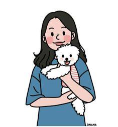 This is Sinana Illustrator based on fashion illustration. Cartoon Girl Drawing, Girl Cartoon, Cartoon Drawings, Cute Drawings, Cute Art Styles, Cartoon Art Styles, Character Art, Character Design, Cute Couple Art