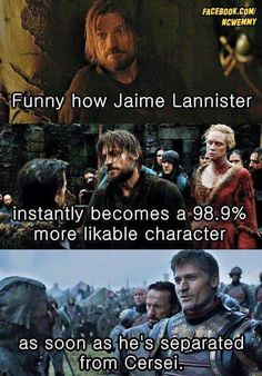 Honestly, it's like she's the WORST of the Lannisters (maybe excluding Joffrey) and such a bad influence on everybody.
