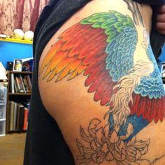 Phoenix   By Mike Pritchett @ Matchless Tattoo