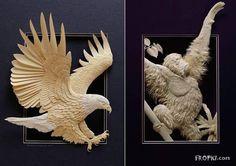 Unbelievable Paper Art: Wildlife In Insane Detail