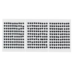 Craft Day 4: Use these as Braille dots. Monochromatic Black Self-Adhesive Pearls - OrientalTrading.com