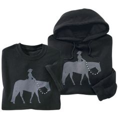 Western Pleasure Hoodie - Horse Themed Gifts, Clothing, Jewelry & Accessories all for Horse Lovers