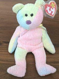 Advertisement - 01/10/1999 Ty Bear Plush Doll Groovy Lop Eared Bunny, Ty Bears, Beanie Buddies, Stuffed Animal Cat, Plush Dolls, Pet Toys, Teddy Bear, Ebay, Stuffed Toys