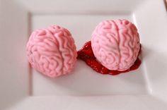 Brain Cake Pops - Quake N Bake