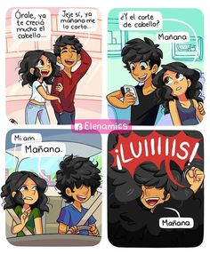 Memes Chistosos Parejas 31 Ideas For 2019 Memes In Real Life, All The Things Meme, Cute Comics, Funny Comics, Funny Love, Funny Kids, Funny Images, Funny Pictures, Couples Comics
