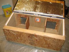 cat house plans insulated