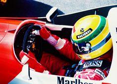 Ayrton Senna, Spanish Grand Prix 1993 photographed by Oleg Konin