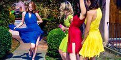 Nos conseils pour coudre une robe inspirée du film Lalaland