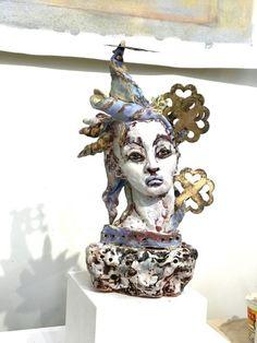 untitled by Suzy Birstein Sculptures, Lion Sculpture, Studio Shoot, Suzy, Figurative, Ceramics, Statue, Friends, Inspiration