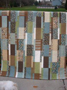 Shoebox Quilt by mamacjt, via Flickr