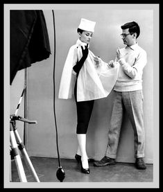 Audrey Hepburn and Richard Avedon 1956 | High Low Vintage