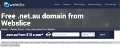Free .net.au Domain Name