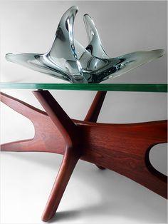 Chalet Art Glass Vase (SOLD)