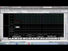 How to Draw Cross section in AutoCad Manually and Calculate Earth work Quantities - YouTube