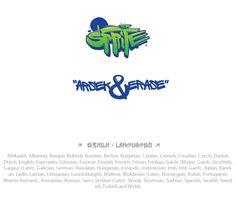Sprite Graffiti Fontby FourPlus | #typography #font #graffiti