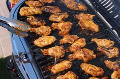 CAs Recipes | Grilled chipotle wings