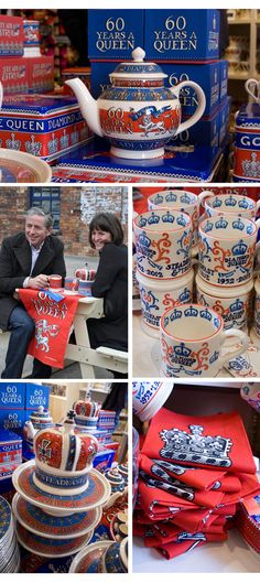 Emma Bridgewater Jubilee Launch and Factory Visit via From Britain with Love.