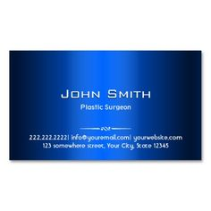 Plastic surgeon business card monogram business cards and business reheart Gallery